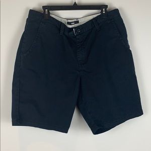 Vans Black Cotton Mix Shorts Size 36